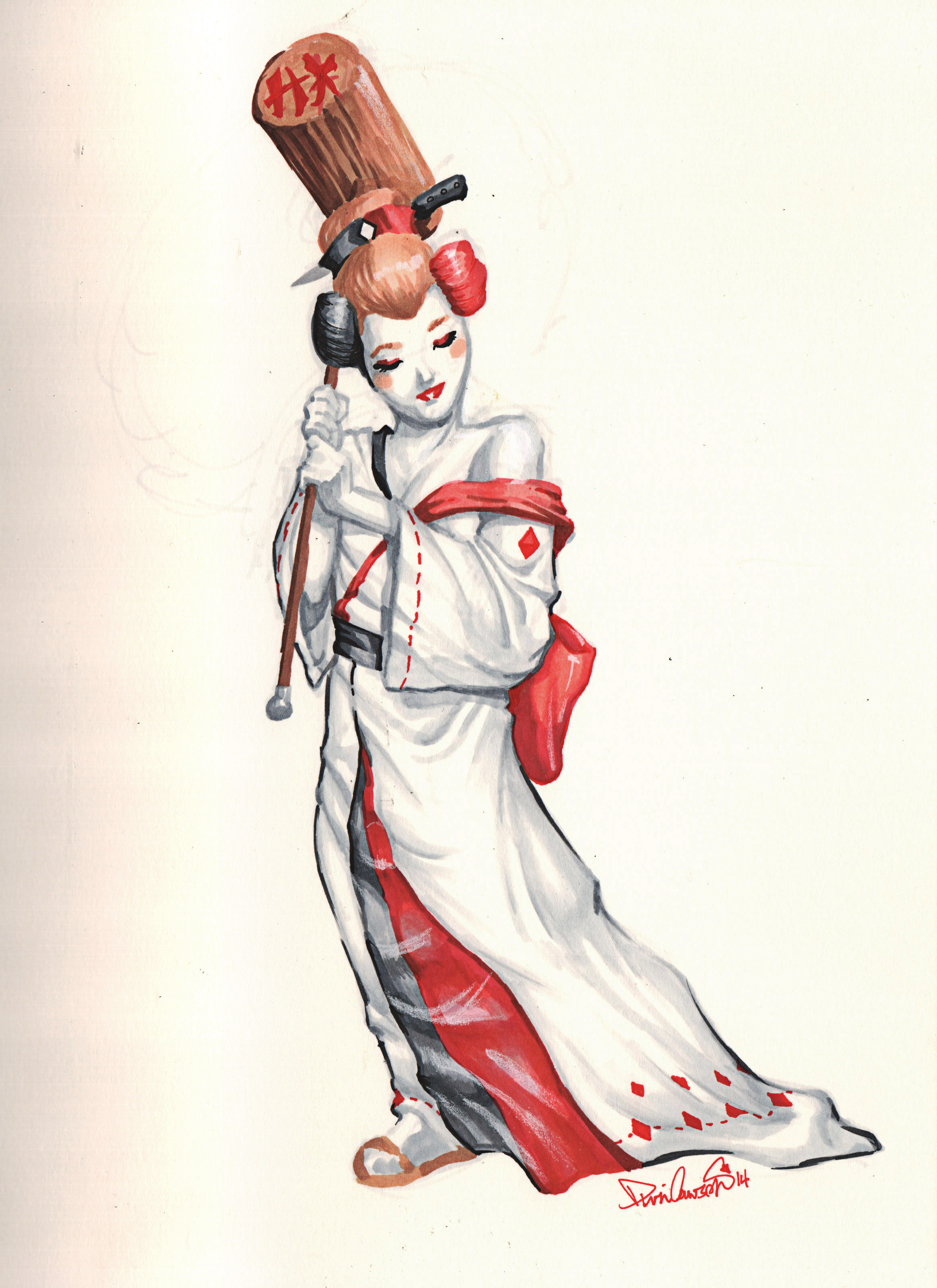 geishaHarley_commission_01